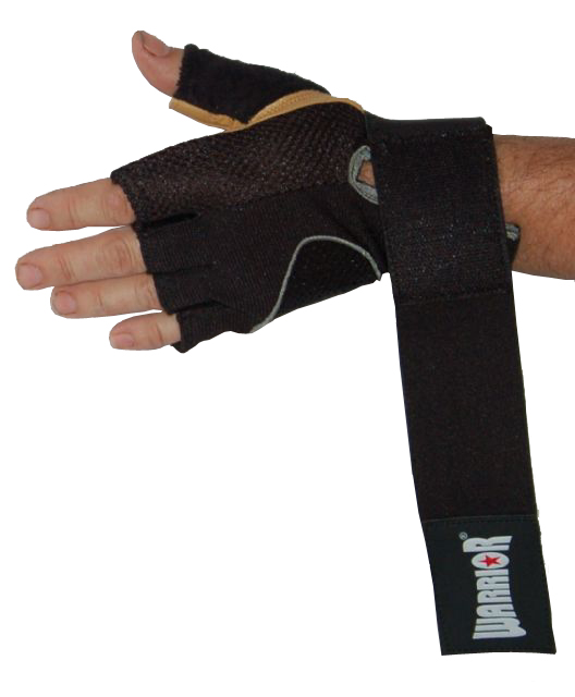 Weight Lifting Gloves With Wrap Around Wrist: SALE: Warrior TG21 Weight Lifting Gloves With Wrap Wrist