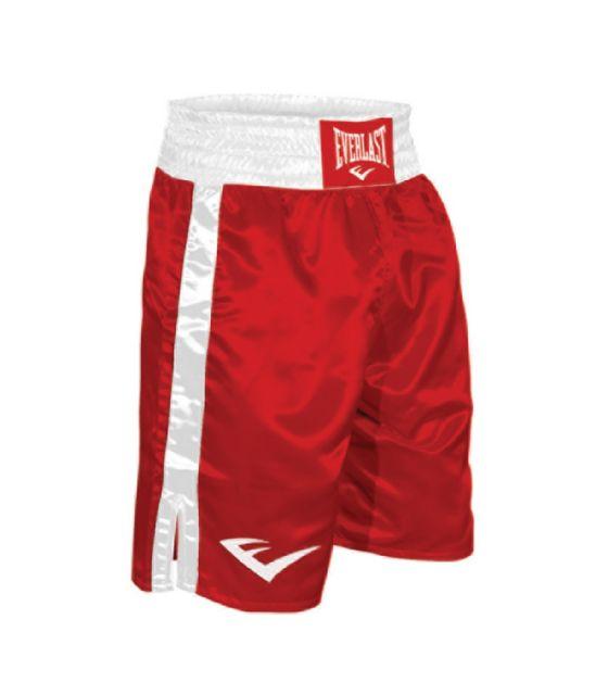 Everlast Boxing Shorts Red Giri Martial Arts Supplies