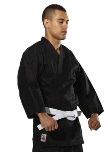 Rising Sun Gengi Black Karate Gi Size 0 NEW