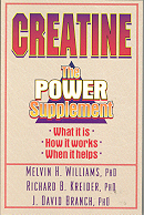 Creatine:  The Power Supplement.