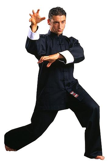 Warrior Classic Kung Fu Uniform Black - Giri Martial Arts Supplies