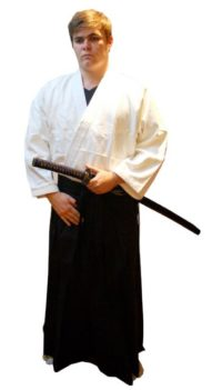 Warrior Silver Label Hakama Black