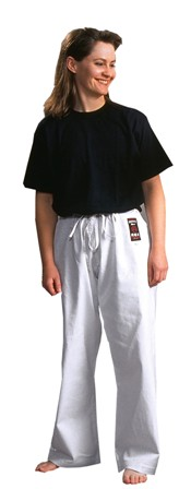 Warrior Silver Label Classic White Pants 6-7