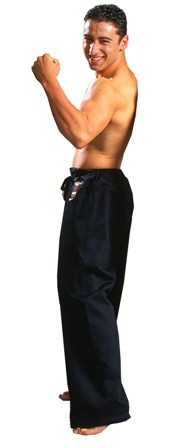 Warrior Silver Label Classic Black Pants 5-7
