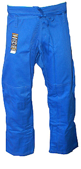 Warrior Blue Pro Label BJJ Pants