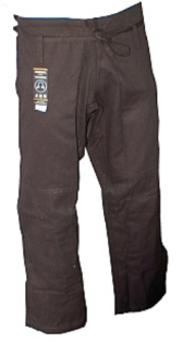 Warrior Black Pro Label BJJ Pants