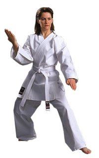 Warrior 100% Cotton Silver Label White 0-2