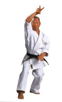 Warrior Meijin Gold Label White Canvas 3-5