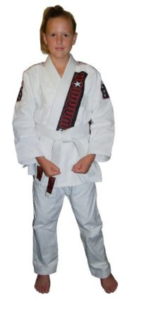Warrior Child BJJ Kimono White