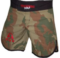 Warrior W3 Camo MMA Shorts