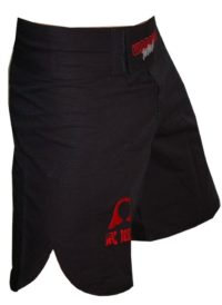 Warrior W3 MMA Black Shorts