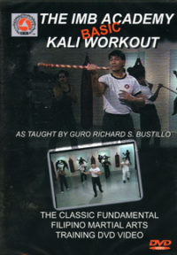 DVD The IMB Basic Kali Workout