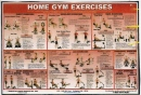 Home Gym Exercise Poster
