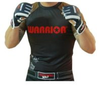 Warrior Graded Short Sleeve Rash Guard Black/Brown