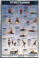 Stretching Lower Body Poster