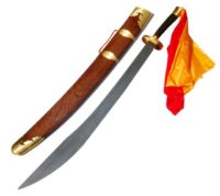 Kung Fu Sword with Wooden Scabbard