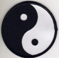 Ying Yang Badge