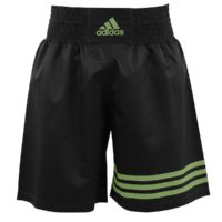 adiSMB02 Black_Fluo green - Front
