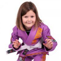 ANIMPUR Crouch Meerkastsu Kids Gi Purple